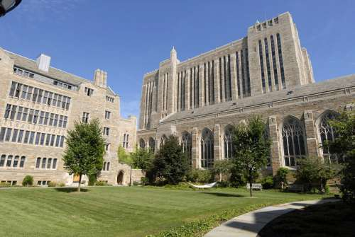 Yale University Campus in New Haven, Connecticut free photo