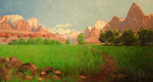 Zion Canyon in Zion National Park, Utah free photo