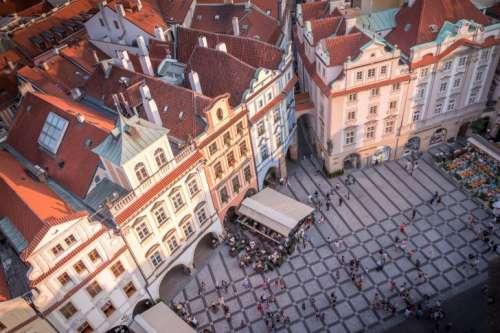 View on Prague City Square
