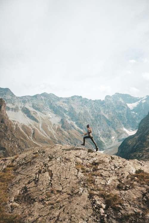 Leap on Cascade Lauzon