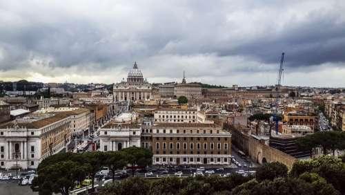 Cityscape Rome, Italy free image