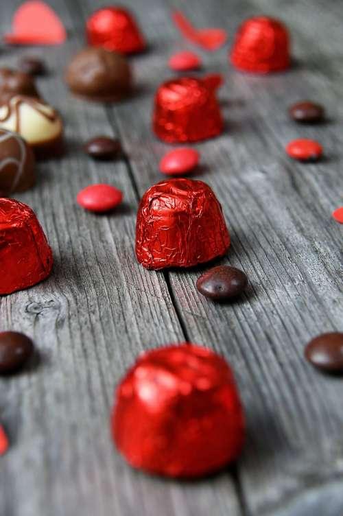 Sweet Chocolate Pralines