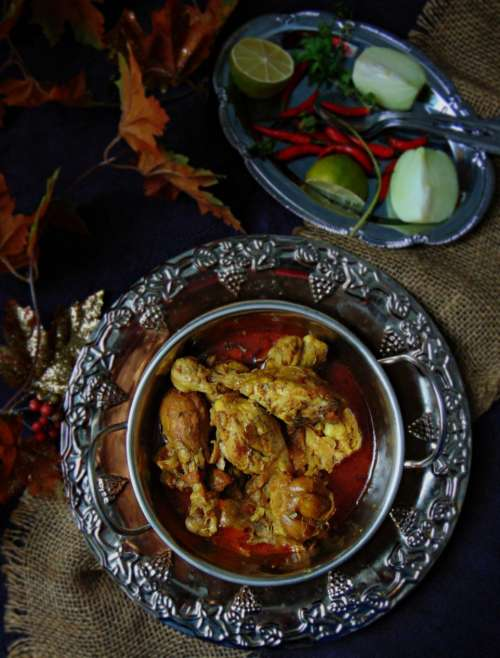Traditional Bangladeshi Style Chicken curry