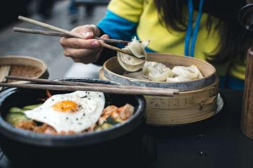 Korean bibimbap in yamyam berlin