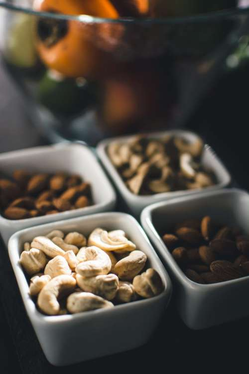 Nuts with fruit
