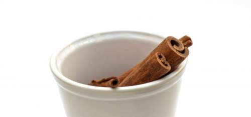Cinnamon in a cup