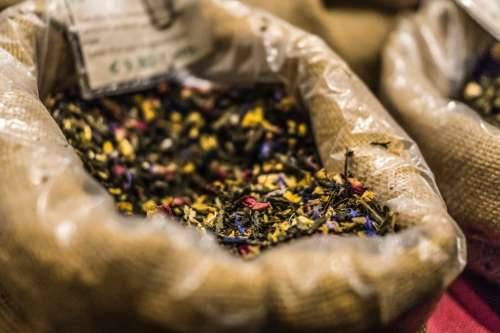 Spices in a bag