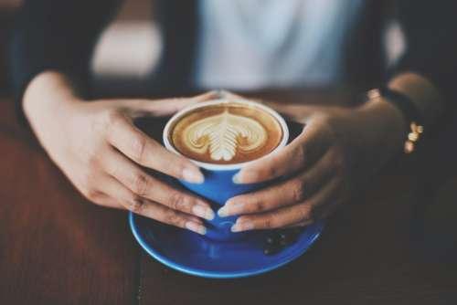 Woman enjoying her coffee