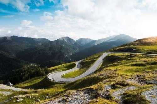 Amazing Nockalm Road in Austria