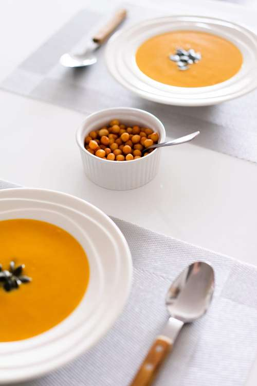 Soup and Croutons