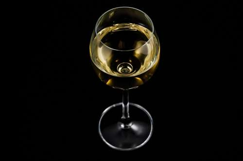 A Glass Of Wine Alcohol White Wine A Glass Of Wine