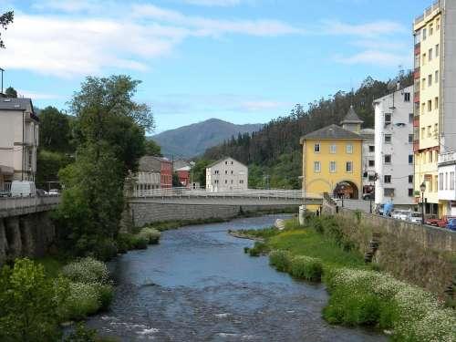 A Pontenova Galicia Spain