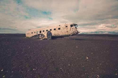 Abandoned Airplane Wreck Wreckage Crashed Crash