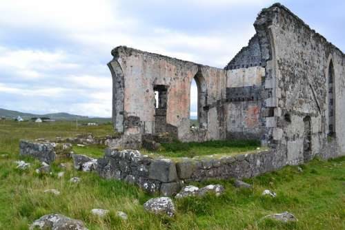 Abandoned Ruin Decay Building Architecture Skye
