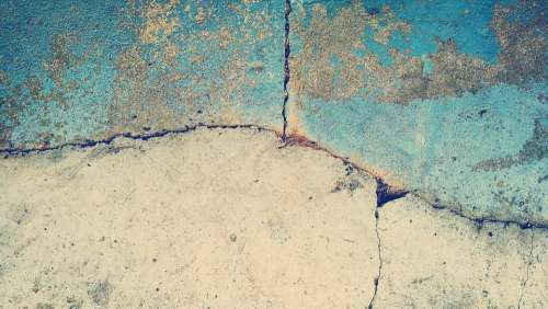 Abstract Art Backdrop Background Blue Concrete