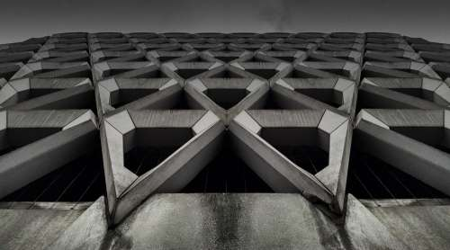 Architecture Building Abstract Background Design