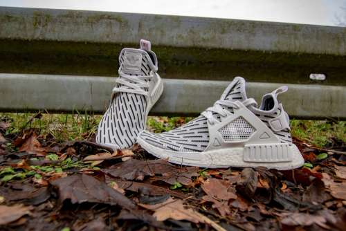 Adidas Nmd Shoes White Sneaker Forest