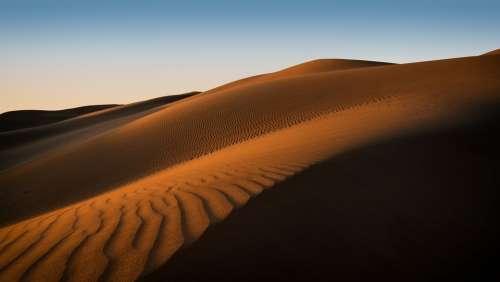 Adventure Barren Dawn Desert Dry Dune Hill Hot