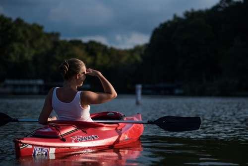 Adventure Boat Canoe Fun Kayak Lake Outdoors
