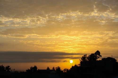 Africa Kenya Sunrise Dawn