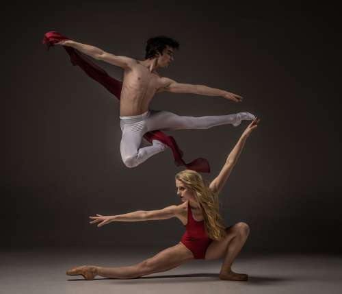 Agility Ballet Dancing Athlete Ballerina Balance