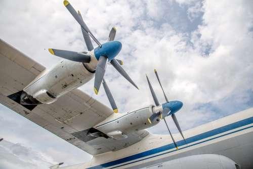 Aircraft Wing Engine Rotor Antanov Tupolev