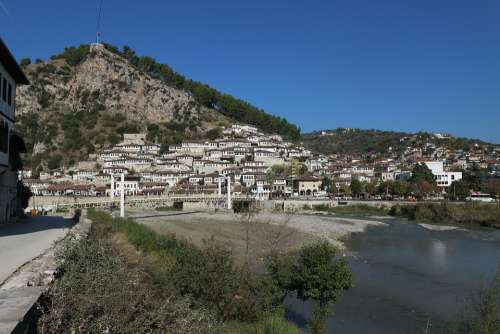 Albania Berat Bridge