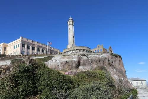 Alcatraz San Francisco Island Prison Usa Jail