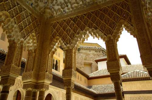 Alhambra Grenade Andalusia Palace Architecture