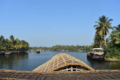 Alleppey Alappuzha Kerala India Asia River Water