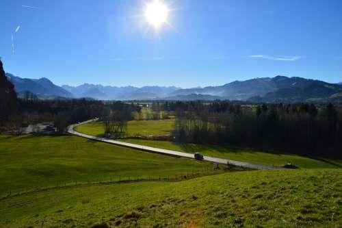 Allgäu Winter Green