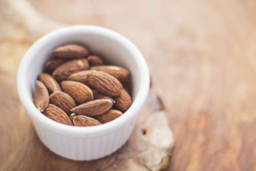 Almonds Food Nuts Healthy Diet Nutrition Snack