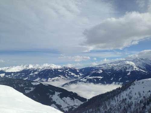Alpine Snow Mountains