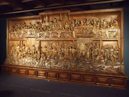 Altarpiece Art Wood