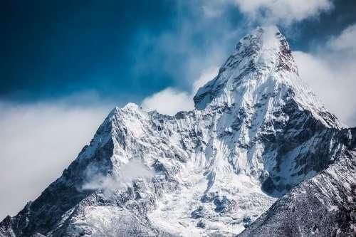 Ama Dablam Himalaya Mountain Peak Nepal Summit
