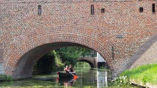 Amersfoort Netherlands Canal Boat