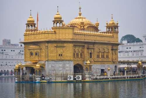 Amritsar Golden Temple Punjab Sikhism Religious
