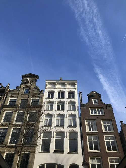 Amsterdam Houses Netherlands Architecture Holland