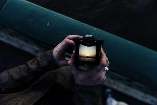 Analog Arms Camera Capture Closeup Dawn Film