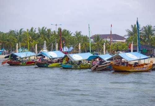 Ancol Harbor Jakarta Indonesia Ocean Dock Pier
