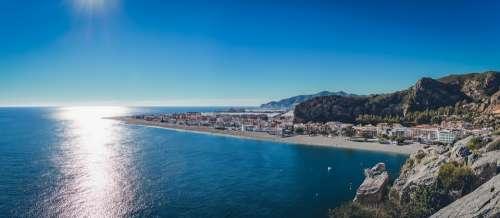 Andalusia Coast Beach Sun Spain Water Landscape
