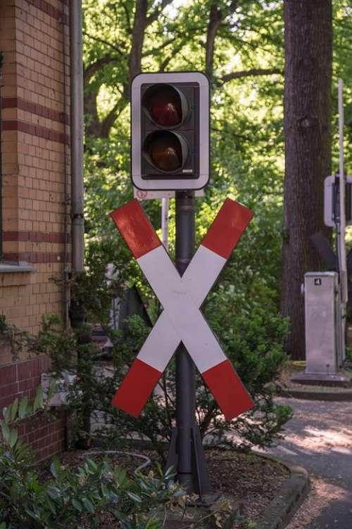 Andreaskreuz Traffic Lights Traffic Light Signals