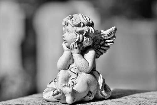 Angel Angel Figure Sculpture Statue Wing