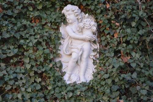 Angel Ivy Potsdam Sculpture Figure Statue