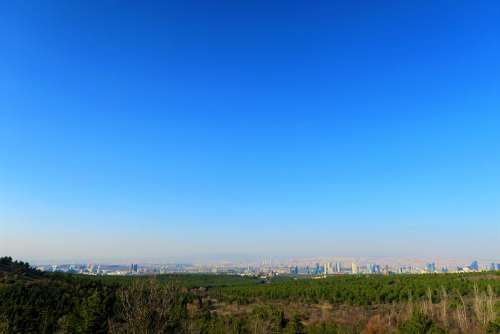 Ankara City Landscape Turkey Travel Environmental