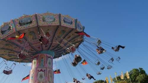 Anna Kirmes Fair Year Market Carousel