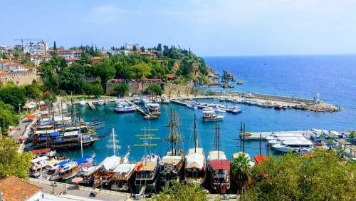 Antalya Castle Date Turkey Yacht Port Travel