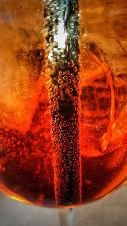 Aperitif Spritz Cocktail Orange Alcohol Drink