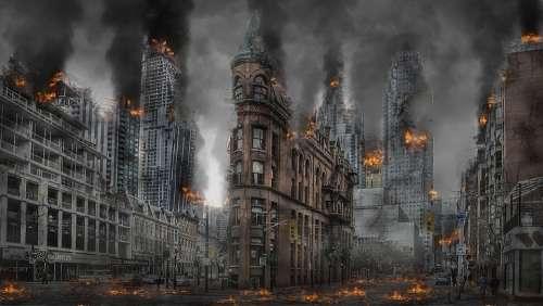 Apocalypse War Disaster Destruction Armageddon
