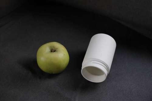 Apple Natural Food Fruit Eco Bottle Glass Jar
